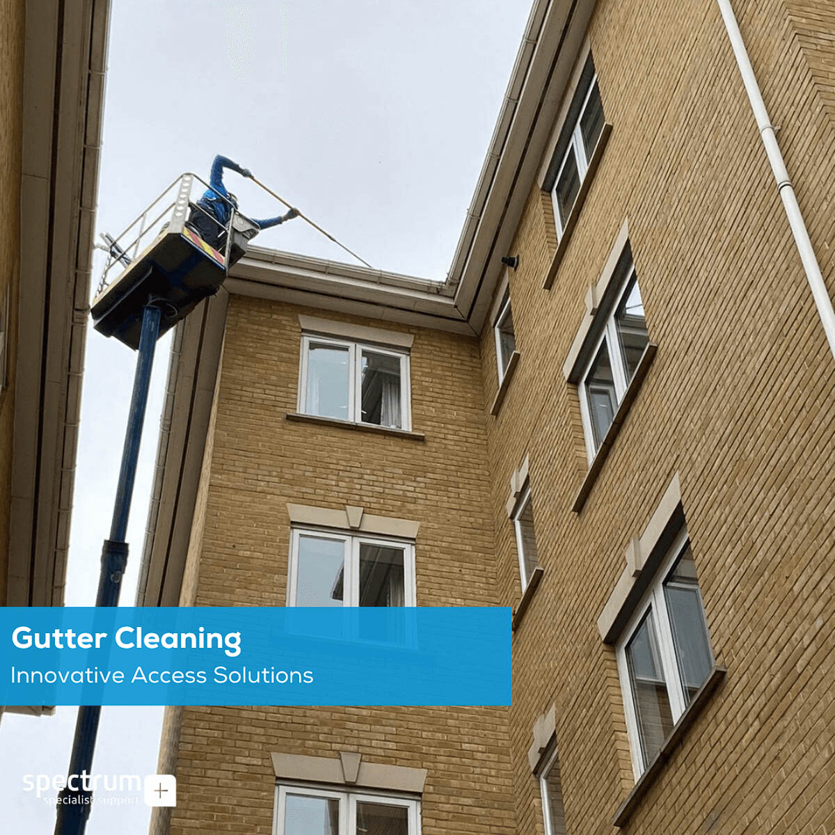 How to Clean Gutters. 3